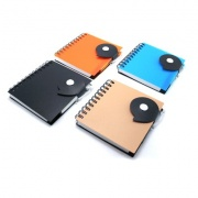 Trendy PP Notebook with Ball Pen ZNO1020