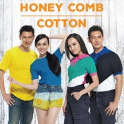 Honey Comb & Cotton (Ready make)